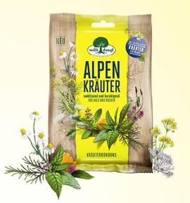 Alpine herbs sweets Willi Dungl