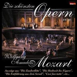 The most beautiful Operas by Mozart CD