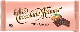 Manner Chocolate Chocolade 70%