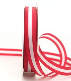 Gift Box Ribbon red-white-red