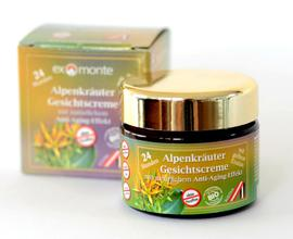 Bio Alpine Herbs Face Cream Exmonte