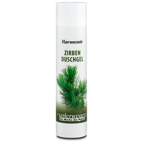 Organic Stone Pine Shower Gel Unterweger