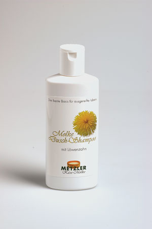 Whey shower shampoo with dandelion Metzler