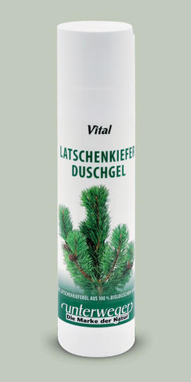Mountain Pine Shower Gel Unterweger
