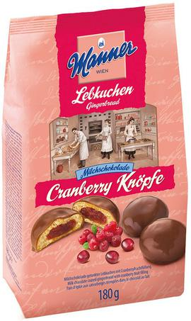 Cranberry Gingerbread Manner