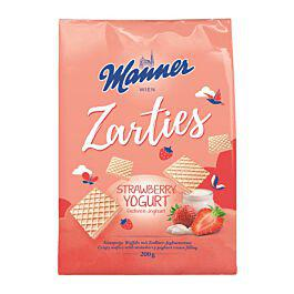 Manner Strawberry Wafers