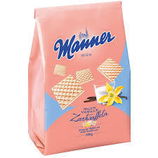 Manner Milk Vanilla Light Wafers