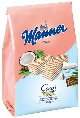 Coconut Wafers Manner
