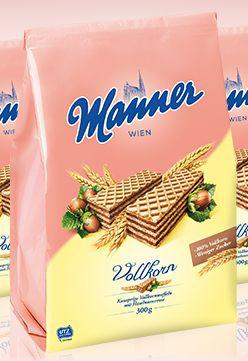 Manner Whole Grain Wafers Bag