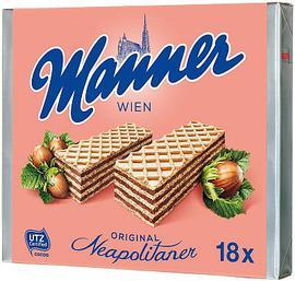 Neapolitaner Manner wafers XXL pack 18pcs