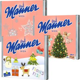 Manner Wafers Neapolitain Gift Package 18pcs - Christmas Edition