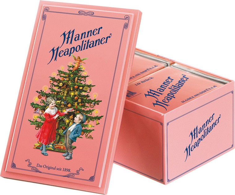 Neapolitain 1898 Nostalgia Box - Christmas edition Manner
