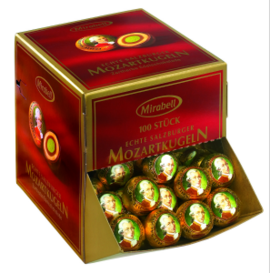 Big Pack Mozart Balls Mirabell 100 pcs.