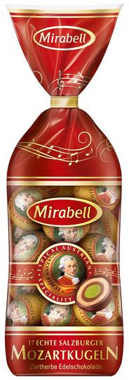 Mirabell Mozart Balls transparent bag 17 pcs.