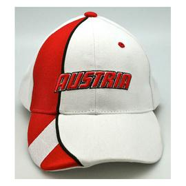 Cap Austria white-red