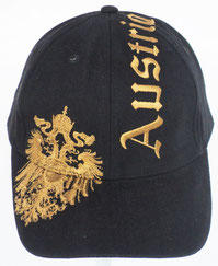 Cap Austria Eagle black
