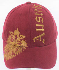Baseball Cap Austria Eagle red