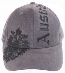 Baseball Cap Austria Eagle gray