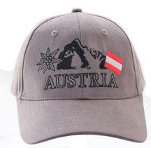 Baseball Cap Austria Mountains gray