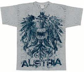 T-Shirt Austria Eagle grey