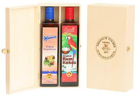 Giftbox Manner Cream Liqueur & Casali Chocolate Banana Cream Liqueur