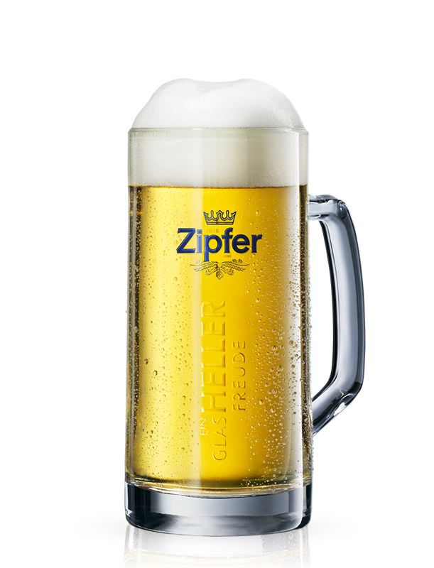 Beer glass mug Zipfer 0,3L