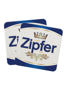 Beverage coasters Zipfer