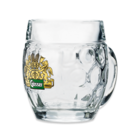 Beer glass Augenkanne Gösser 0,5L