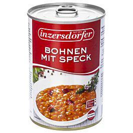 Beans with Bacon Canned Inzersdorfer