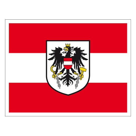 Sticker austria flag