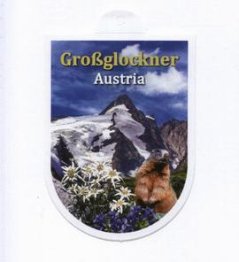 Sticker Grossglockner Austria