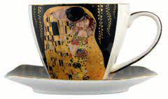 Coffee Cup Gustav Klimt The Kiss Gift Box