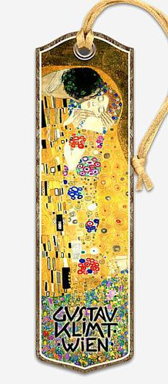Bookmark Gustav Klimt Kiss