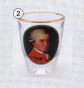 Shot Glass Mozart