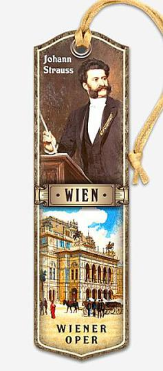 Bookmark Johann Strauss