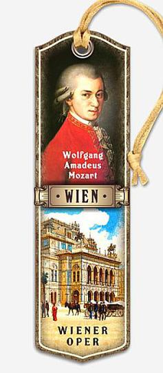 Bookmark Mozart Vienna