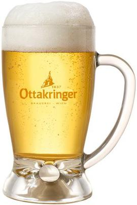 Beer Glass Ottakringer Krügel 0,5L