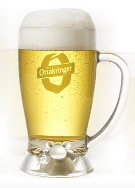 Beer Glass Krügel Ottakringer 0,33L