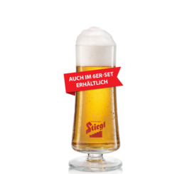 Glass Pokal Stiegl 0,3L