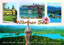 Fridge Magnet Wörthersee