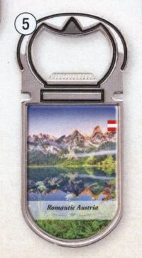 Bottle Opener Austria Lake Mountains