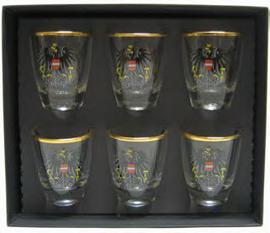 Shot Glasses Austria Set 6 pcs