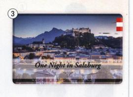 Fridge Magnet Salzburg Night
