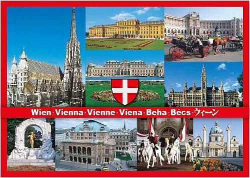 Vienna Postcard Vienna Souvenirs Austria