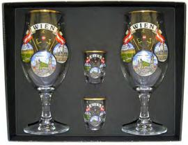 Wine glasses Vienna set