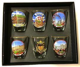 Vienna shot glasses set 6pcs